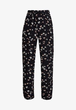 CAMILLEIW PANT - Trousers - black happy