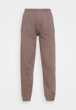 OVERDYED JOGGER - Tracksuit bottoms - chocolate