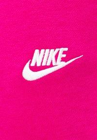 Nike Sportswear - Tracksuit bottoms - fireberry/white - 6