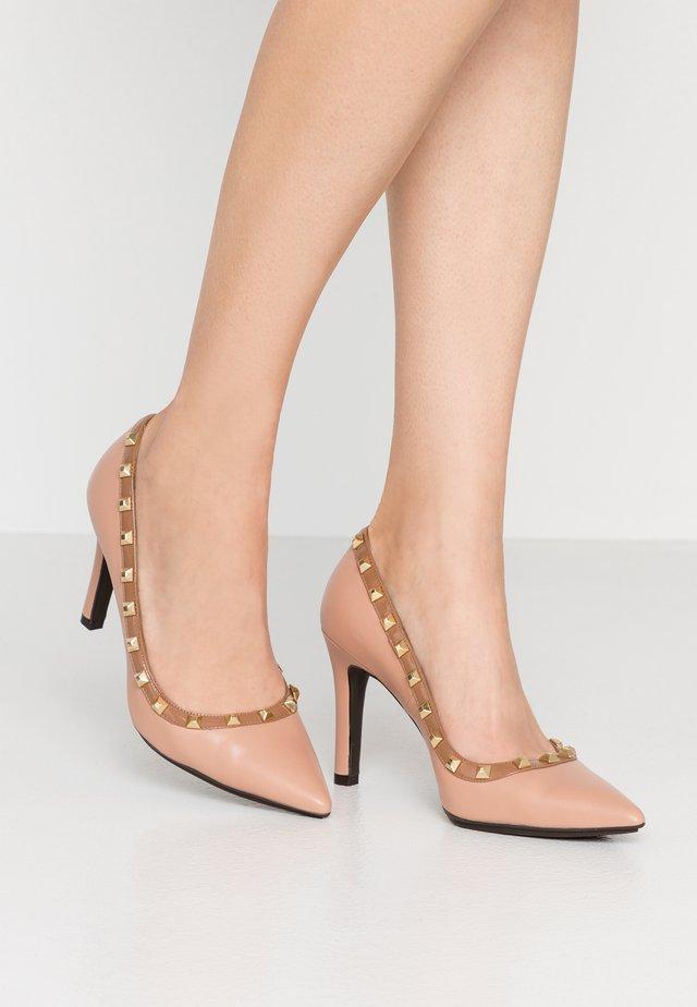 RUGO - High heels - glove blush/charoll blush