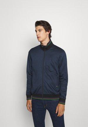 ZIP TRACK TOP - Zip-up sweatshirt - dark blue