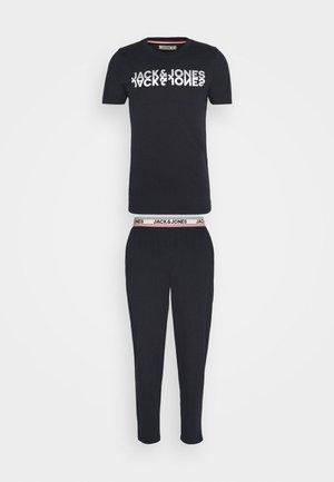 JACJONES LOUNGE  SET - Pyjama top - dark navy
