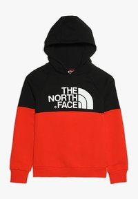 The North Face - DREW PK RGLN PV HD COSMIC BLUE - Jersey con capucha - red/black - 0
