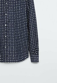Massimo Dutti - SLIMFIT - Shirt - blue/black denim - 4
