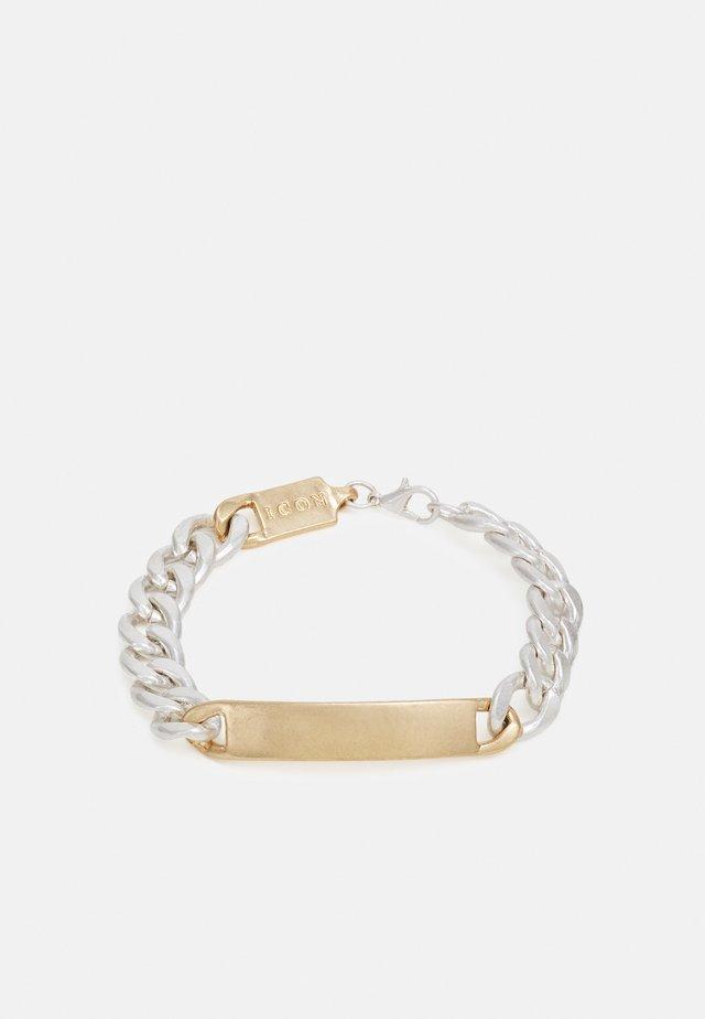 ALL MIXED UP BRACELET - Náramek - silver-coloured/gold-coloured