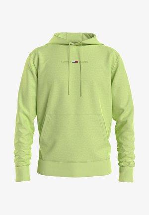 GEL STRAIGHT LOGO HOODIE - Sweatshirt - limone