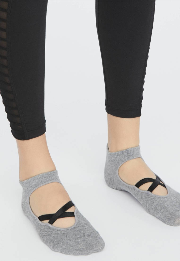 OYSHO - 2ER-PACK  - Sports socks - black