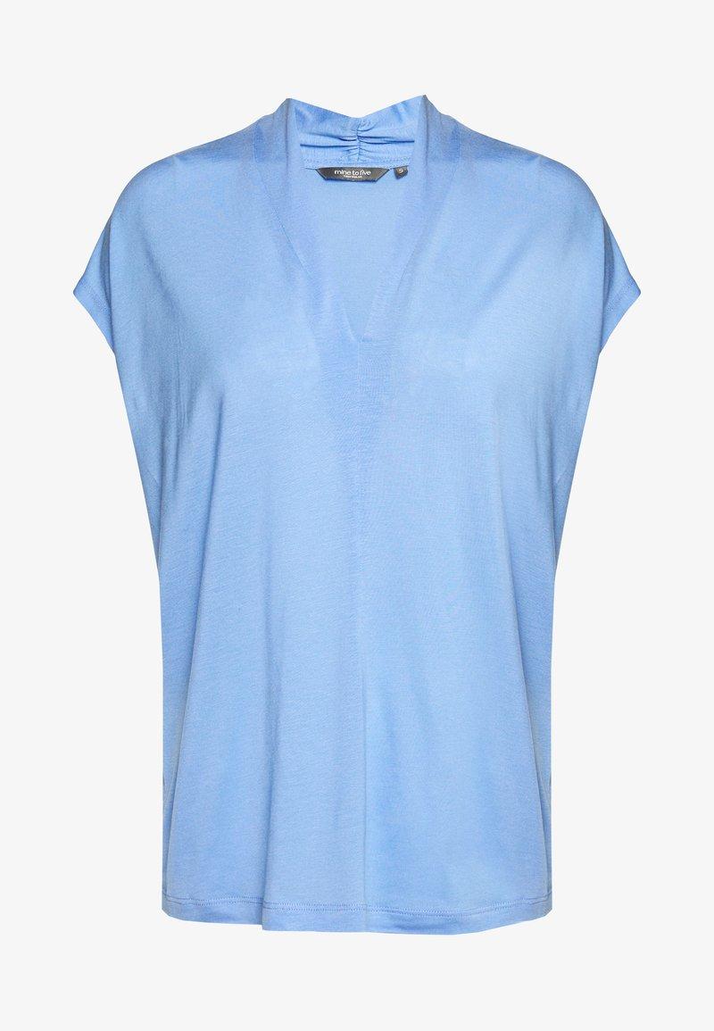 mine to five TOM TAILOR - FEMININE  - Triko spotiskem - dreamy blue