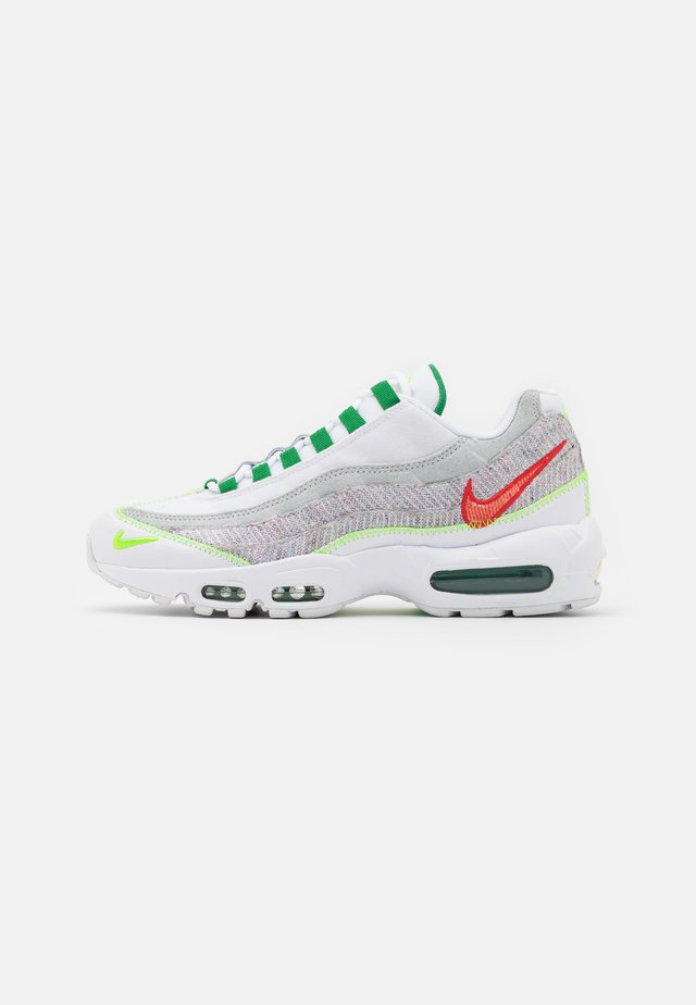 AIR MAX 95 UNISEX - Baskets basses - white/classic green/electric green
