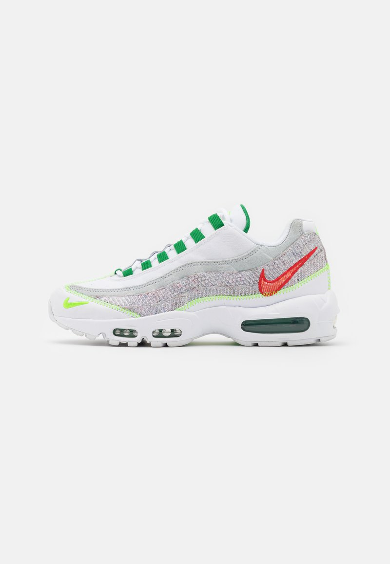 Nike Sportswear - AIR MAX 95 UNISEX - Baskets basses - white/classic green/electric green