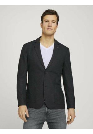Blazer jacket - anthra melange structure