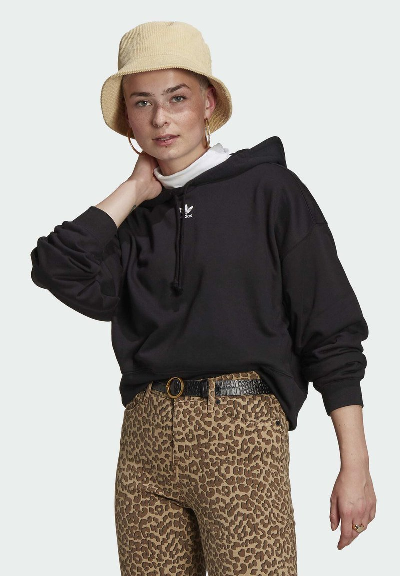 adidas Originals - HOODIE - Jersey con capucha - black