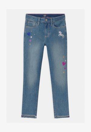 GIRLS  - Skinny džíny - blue denim