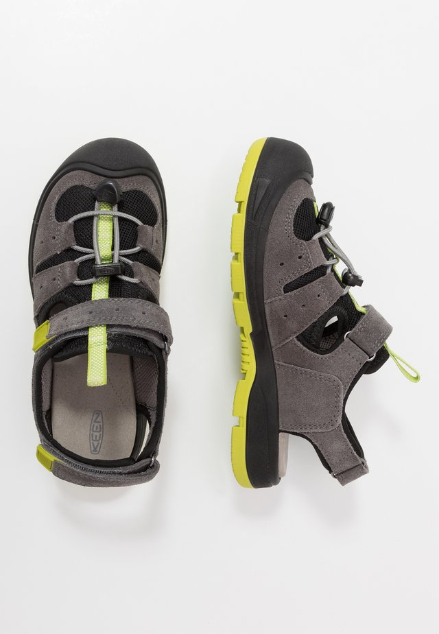 BALBOA - Outdoorsandalen - steel grey/chartreuse
