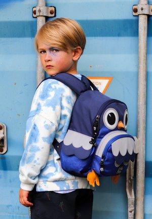 OWL SHAPE - Mochila - blue melange