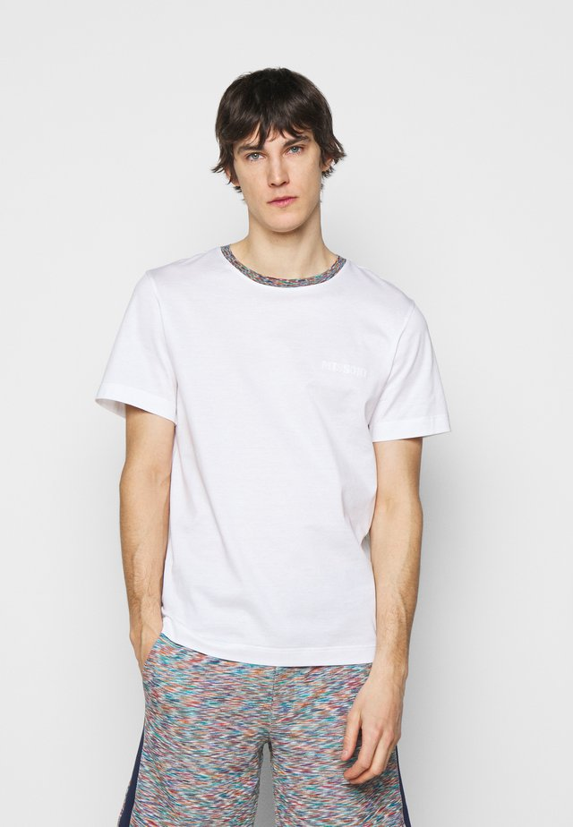 MANICA CORTA - T-shirt con stampa - white/multi-coloured