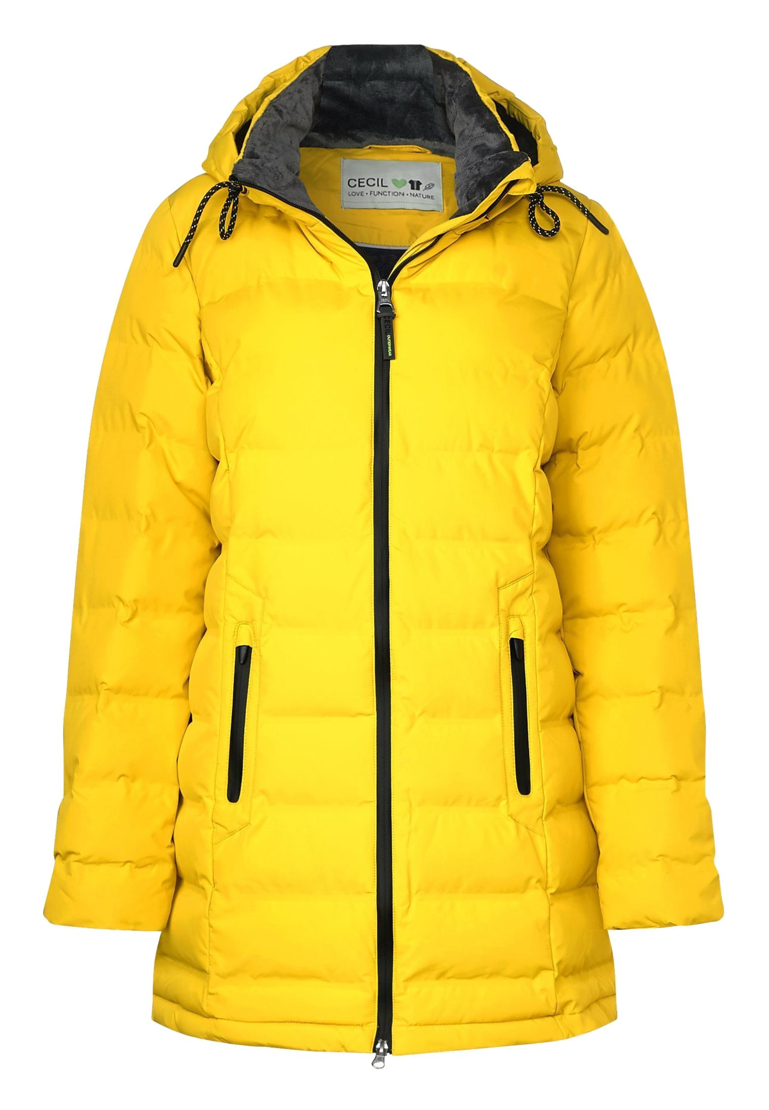 Winterjas yellow