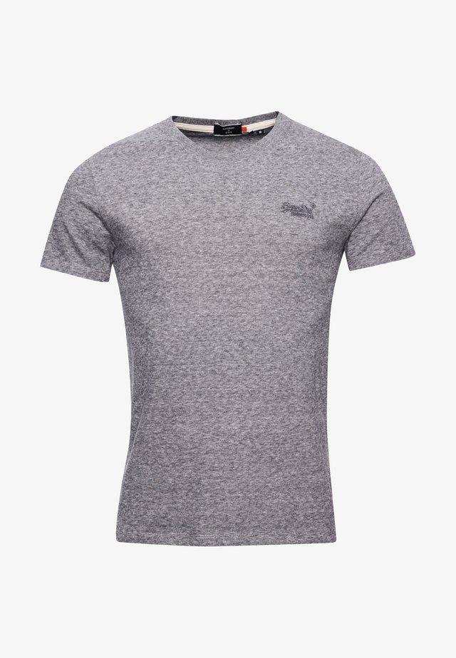 OL VINTAGE EMB  - T-shirt basic - stone grey feeder