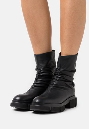 CPH552  - Platform ankle boots - black