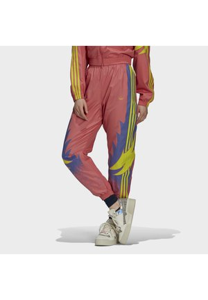 Tracksuit bottoms - hazy rose joy purple acid yellow