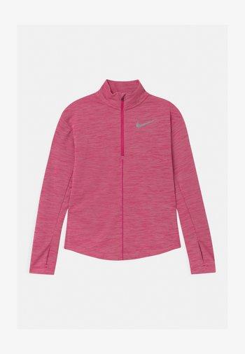 RUN - Sports shirt - fireberry