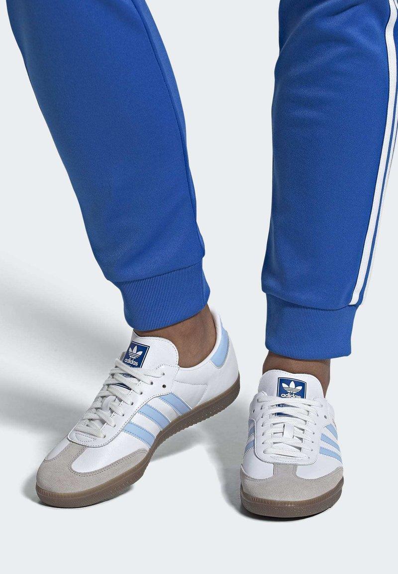 adidas Originals - SAMBA OG SHOES - Sneakers - white