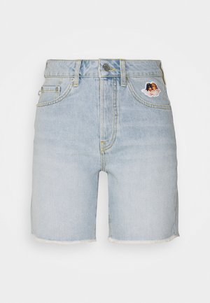 ICON ANGELS SHORTS LIGHT VINTAGE - Denim shorts - light vintage