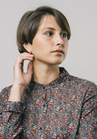 Brava Fabrics - Button-down blouse - red - 3