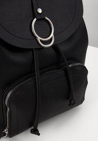 New Look - CLAUDE RING BACKPCK - Rygsække - black - 2