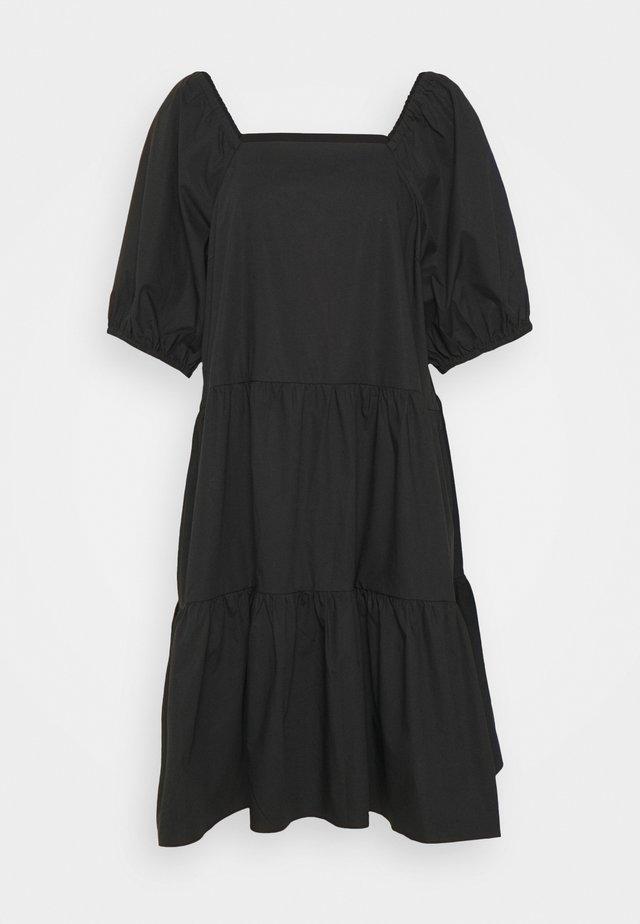 ATHENA DRESS - Korte jurk - black