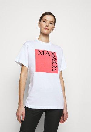 Print T-shirt - rose pink pattern