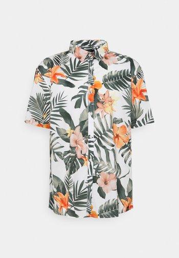 FLORAL HAWAII - Shirt - white