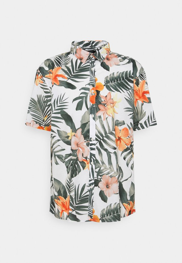 FLORAL HAWAII - Shirt - white