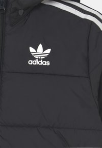 adidas Originals - PADDED UNISEX - Chaqueta de invierno - black/white - 3