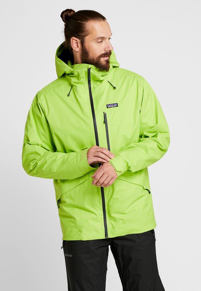 INSULATED SNOWSHOT - Chaqueta de esquí - peppergrass green