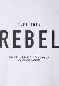 Redefined Rebel - RONAN TEE - Print T-shirt - white - 5