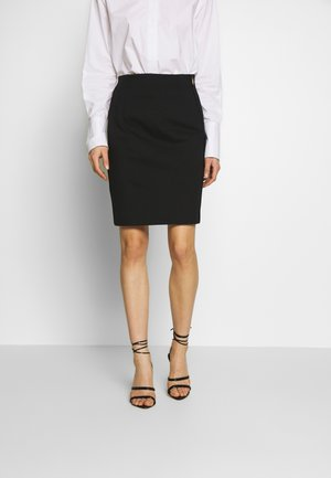 ROKALI - A-line skirt - black