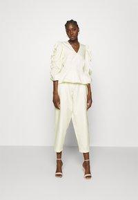 Stella Nova - Spodnie materiałowe - sweet yellow - 1