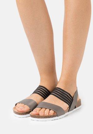 Sandaler - gunmetal