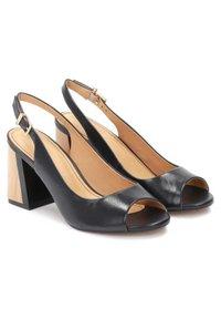 Kazar - Peep toes - black - 1