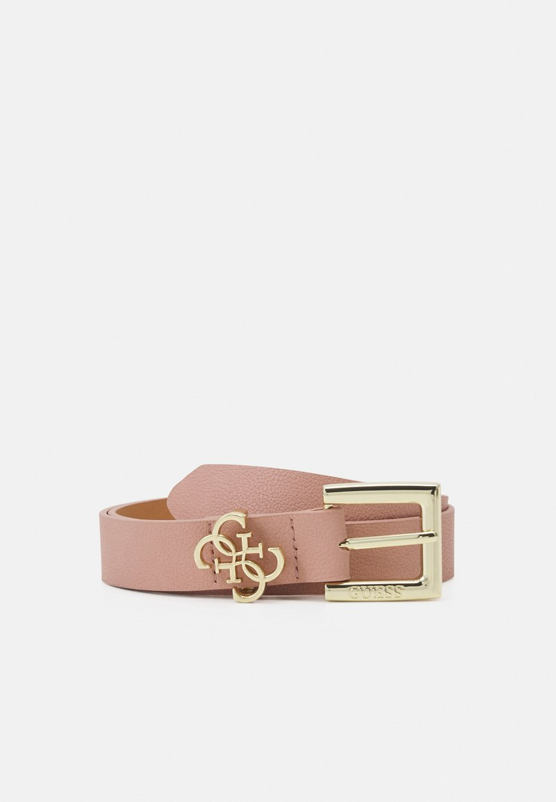 Guess - NOT ADJUSTABLE PANT BELT - Belt - blush