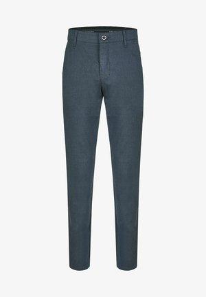 MIT ELASTISCHEM KOMFORTBUND - Trousers - blue