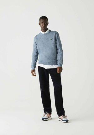 Pullover - heidekraut blau