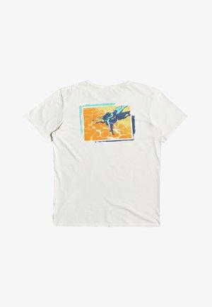 LAZYSUNSS - Print T-shirt - snow white