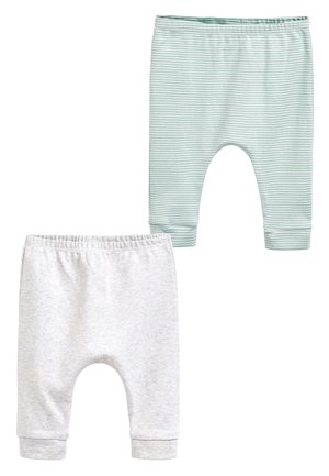 MINT 2 PACK GOTS ORGANIC LEGGINGS (0-12MTHS) - Leggings - Trousers - grey