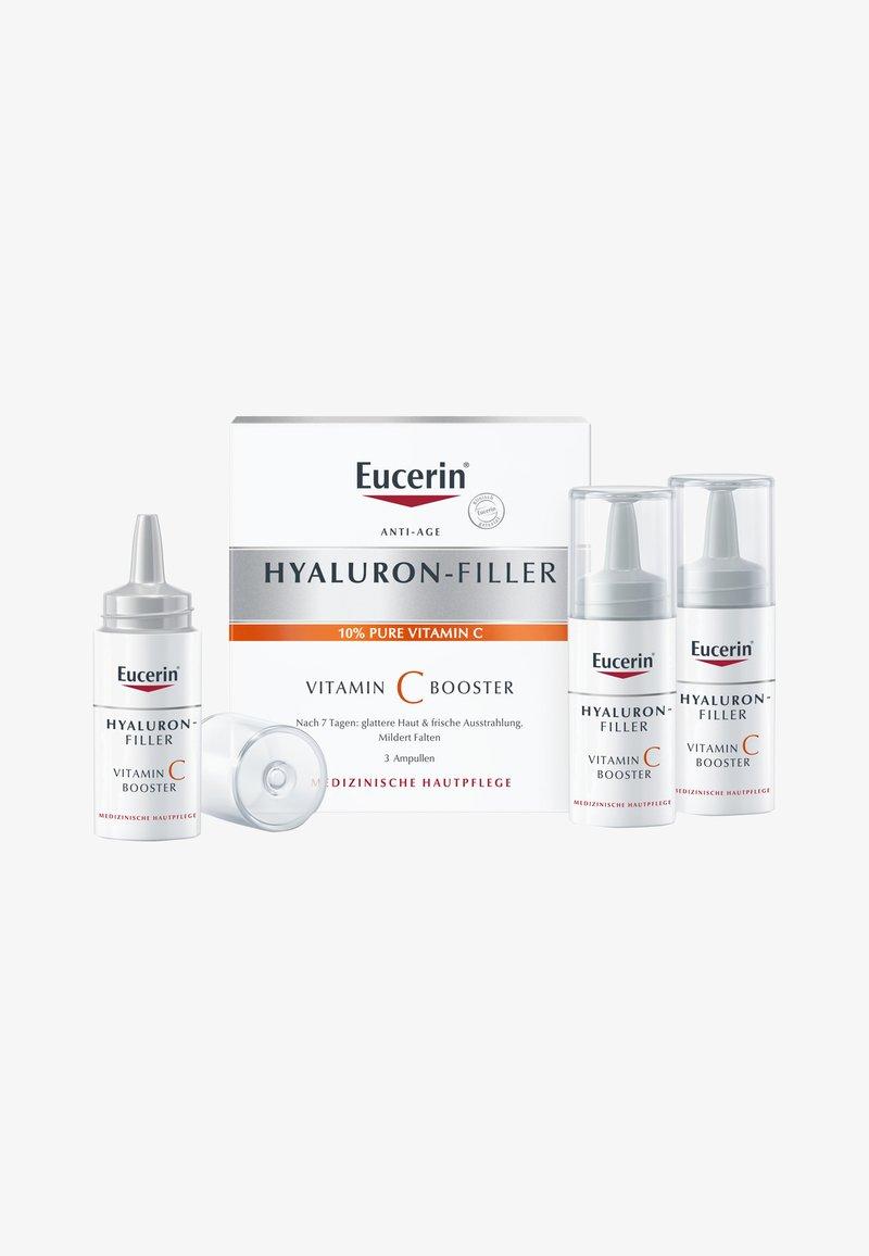 Eucerin - ANTI AGE GESICHTSPFLEGE, HYALURON-FILLER VITAMIN C BOOSTER 3ER PACK - Serum - -