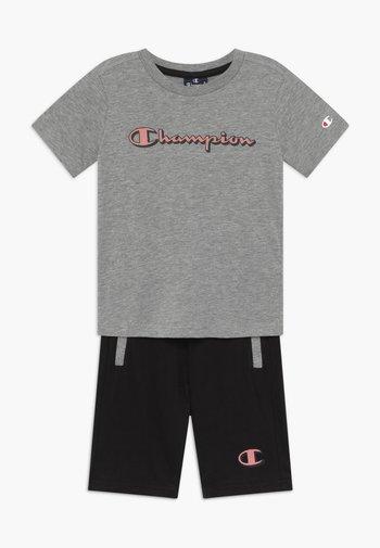 LEGACY GRAPHIC SHOP SET UNISEX - Sports shorts - mottled grey