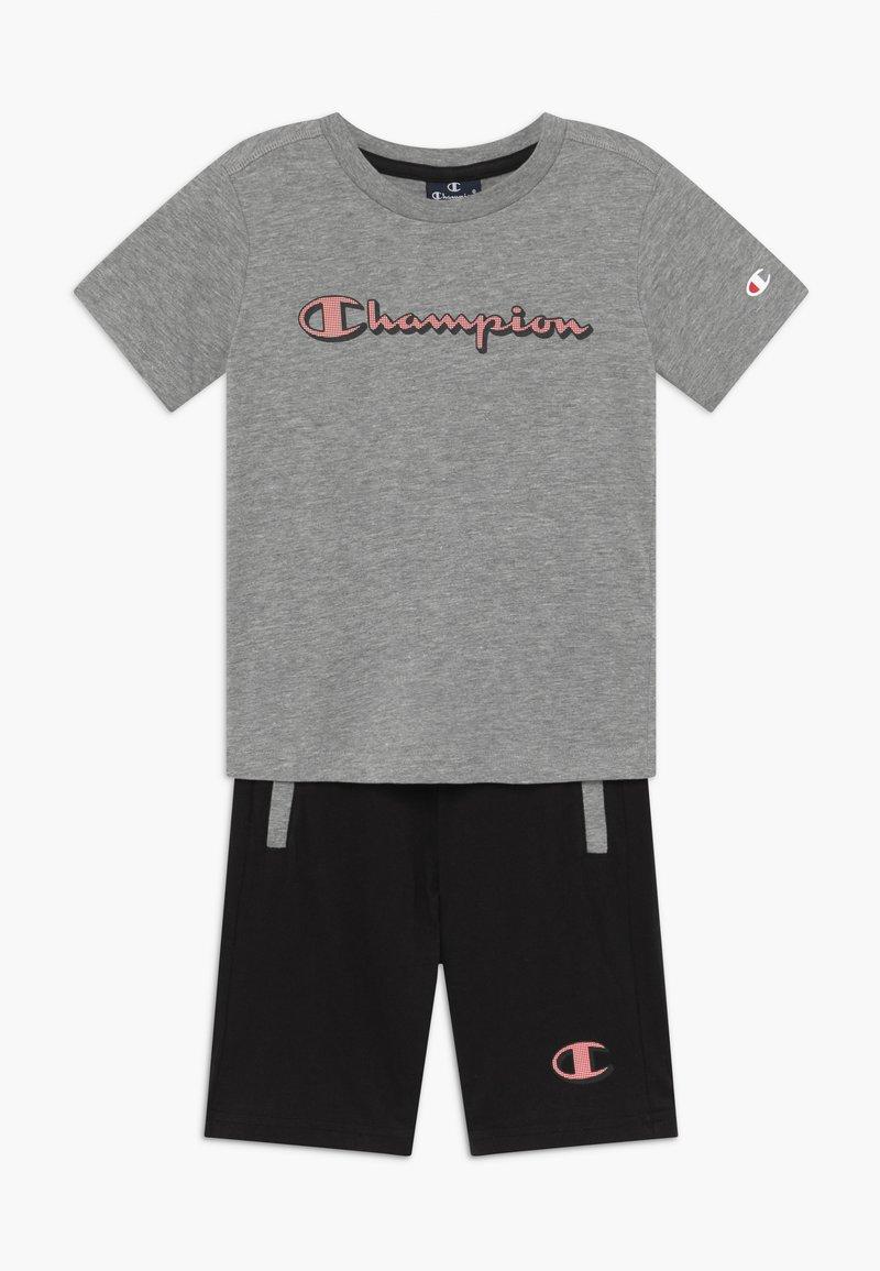 Champion - LEGACY GRAPHIC SHOP SET UNISEX - Pantalón corto de deporte - mottled grey