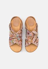 Sanita - TISKA SPORT FLEX  - Clogs - multicolor/nude - 5
