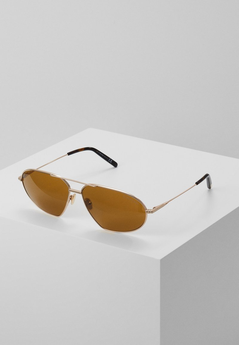 Tom Ford - Sunglasses - rose gold-coloured / brown